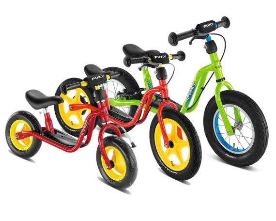 изберете по височина баланс колело PUKY LR M - LR 1L Br - LR XL изберете по възраст колело за баланс