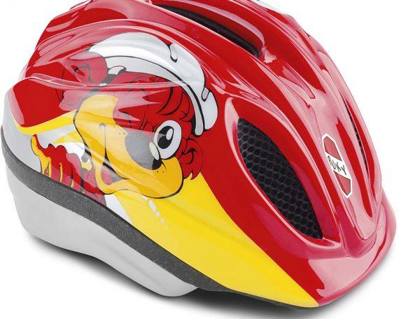 аксесоари за велосипеди puky каска пуки червена Предпазни каски за велосипеди PUKY