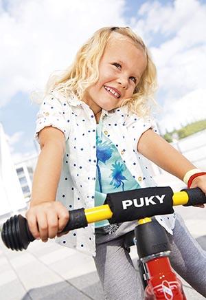 колела за балансиране PUKY момиче с колело пуки