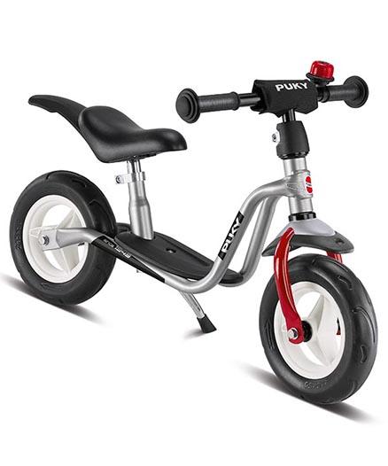 колело за баланс puky lr m plus сребърно колело без педали за 2 годишно дете